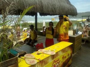 Garagem e Sunset Skol 2012 - Praia Mole Florianópolis