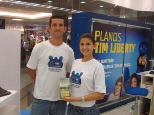 Samping de Lançamento do Plano de TIM Liberty